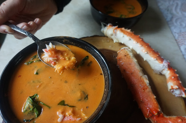 Crab Tomato Bisque