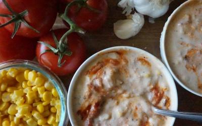 Tomato Corn Chowder