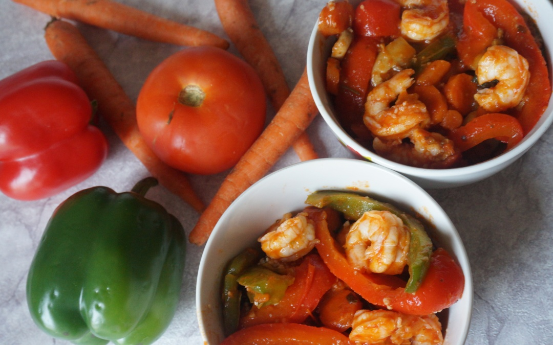 Shrimp Vegetable Stir Fry